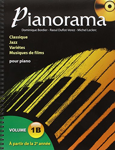 Pianorama Vol 1b+CD