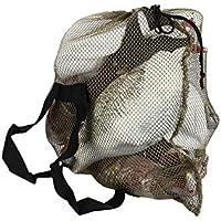 Donnagelia - Bolsa de Tela de Malla con Correas de Hombro para Transportar Pato de Ganso de Turquía (69 x 102 cm), Mesh Decoy Bag