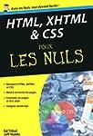 HTML, XHTML et CSS Poche Pour les nuls
