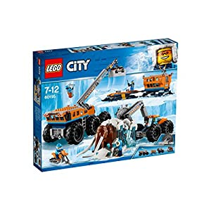LEGO- City Base Mobile di Esplorazione Artica, Multicolore, 60195  LEGO