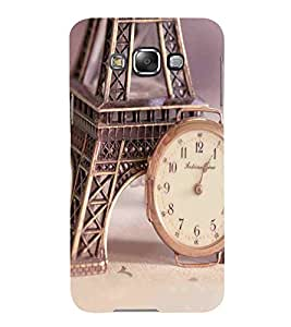 For Samsung Galaxy E5 (2015) :: Samsung Galaxy E5 Duos :: Samsung Galaxy E5 E500F E500H E500Hq E500M E500F/Ds E500H/Ds E500M/Ds Watch, Grey, Tower, Amazing Pattern, Printed Designer Back Case Cover By CHAPLOOS