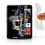 STUFF4 Gel TPU Phone Case / Cover for Microsoft Lumia 640 / Tower Bridge Design / London England Collection