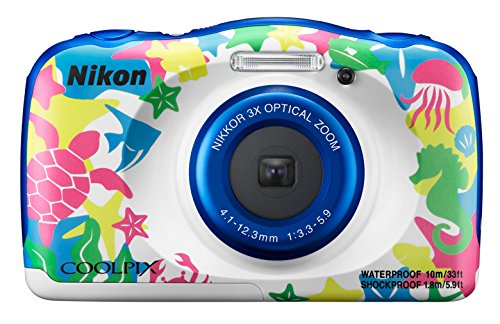 "Nikon COOLPIX W100 Kit Cámara compacta 13,2 MP 1/3.1"" CMOS 4160 x 3120 Pixeles Multicolor - Cámara digital (13,2 MP, 4160 x 3120 Pixeles, 1/3.1"", CMOS, 3x, Multicolor)"