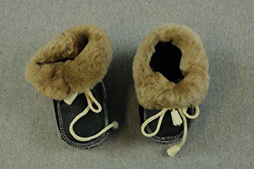 12 Junge Wolle schwarz Cm Natur Schwarz Bb Winterschuhe Leder Baby Grau braun Schuhe Kleidung dunkel vqX5xwI4t