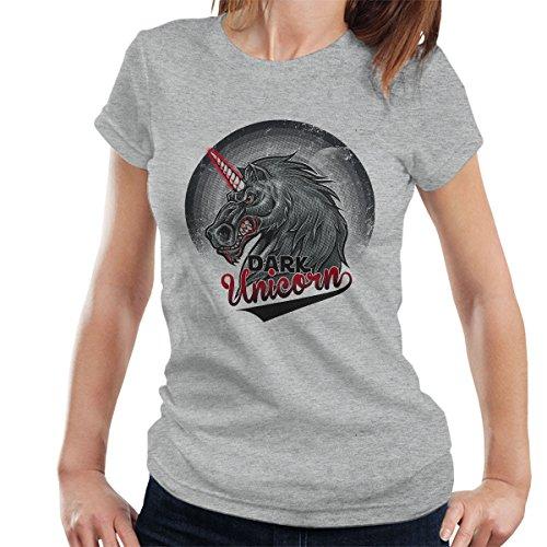 Dark Unicorn Women's T-Shirt Heather Grey