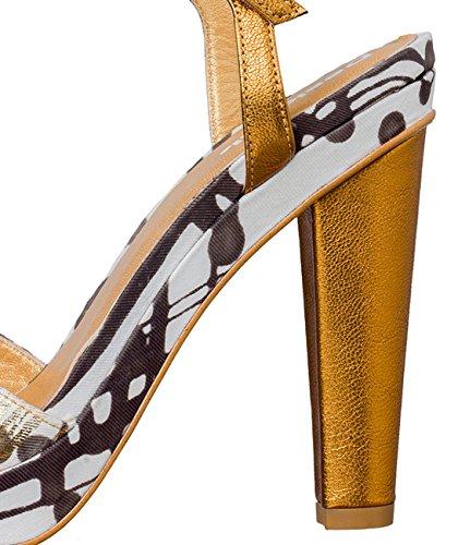 Chaussures à Talons Desigual Roca xt Doré