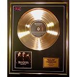 Bee Gees Goldene Schallplatte Record Limitierte Edition/One Night Only