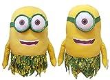 Minions: XXL Bob oder Stuart im Natur / Dschungel Outfit ca 58 cm