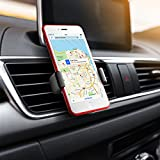 Car Phone Holder, Mpow Air Vent Cars Mount 360° Rotation E-Clip One Step Mounting Car Phone Cradle for iPhone XS/X/8/7/7 Plus/6s Plus/5S/HTC Huawei P20 and Others Bild 5