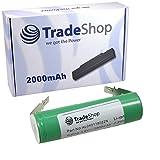 Trade-Shop Hochleistungs Li-Ion Akku 3,6V / 2000mAh für Black & Decker KC360 KC360LN PP360 PP360LN KC460 KC460LN KC360LN PP360LN-QW AS36LN KC460LN-QW BDCS36G GSL200