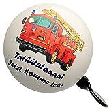 alles-meine GmbH Fahrradklingel -  Feuerwehr Tatütata  - Ding Dong - 2 Klang - stabiles Metall - UNIVERSAL Klingel für Das Fahrrad / Mädchen & Jungen - Lenkerklingel - Feue.. Vergleich