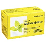 SIDROGA Melissa foglie Tè Filtro sacchetto 20STK