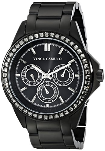 vince-camuto-womens-quartz-watch-with-black-dial-analogue-display-and-black-stainless-steel-bracelet