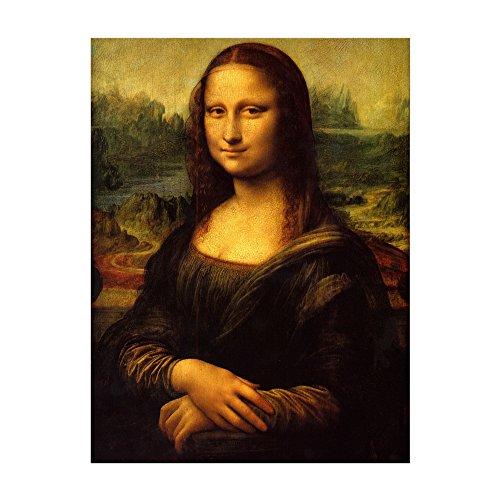 Bilderdepot24 Kunstdruck – Alte Meister – Leonardo da Vinci – Mona Lisa