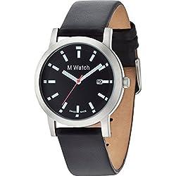 M-Watch STEEL schwarz