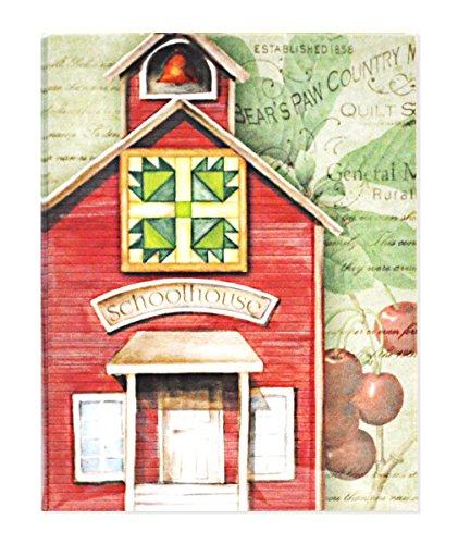 It Takes Zwei nm03Paket Note Karten Quilt Schulhaus Bear 's Paw Kunst und Craft Produkt -