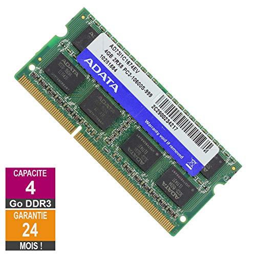 Speicher 4 GB DDR3 Adata AD73I1C1674EV So-DIMM PC3-10600 1333MHz 2Rx8