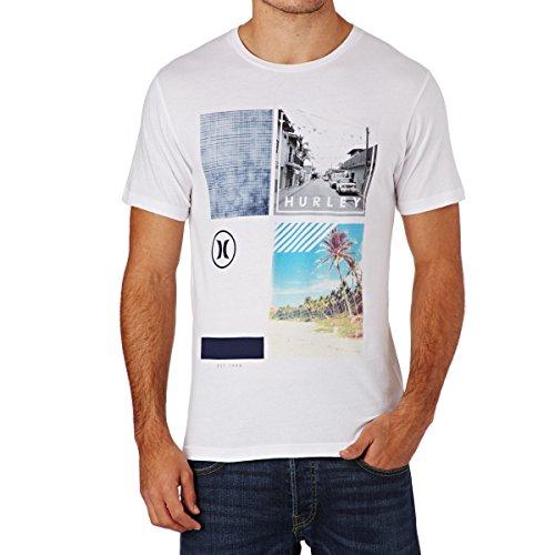 Hurley Herren Printshirt Weiß