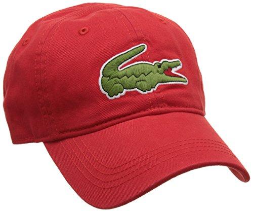 lacoste-herren-baseball-cap-rk8217-rot-rot-one-size