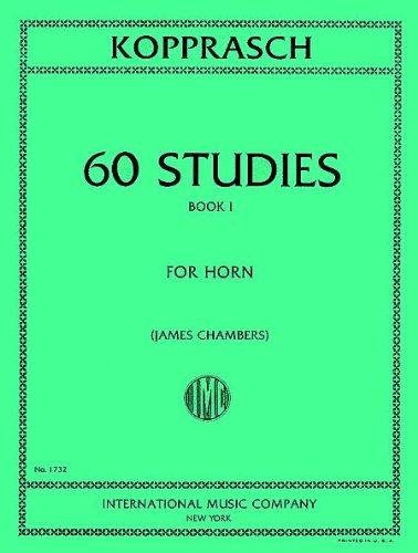 KOPPRASCH C. - Estudios Selectos (60) Vol.1 para Trompa (Chambers)