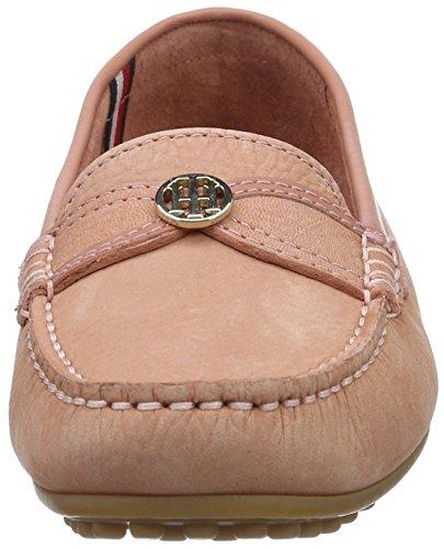 Tommy Hilfiger K1285endall 21n, Chaussures Bateau Femme Rose (Rose Dawn 616)