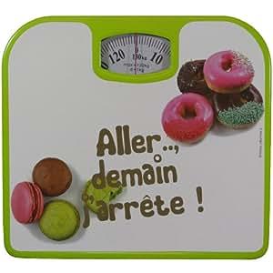 Pèse Personne mécanique Balance Design Gourmand Macaron