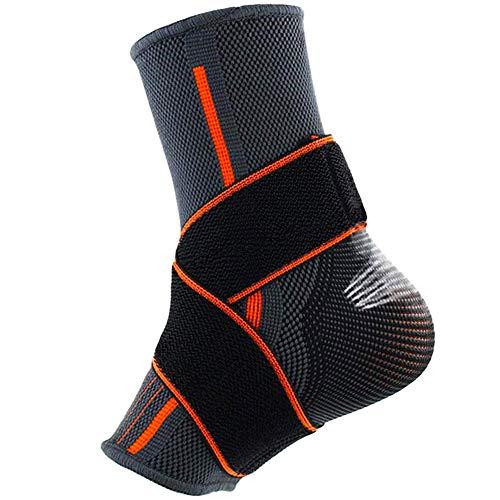 Beister 1 Pack Knöchelbandage Kompressionsbandage für Damen und Herren, elastische Verstauchung, Plantarfasziitis Fußsocken für Verletzungen, Gelenkschmerzen, Achillessehne, Fersensporn -