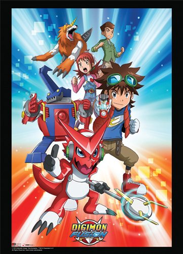 Fusion Scrolls (wall Scroll – Digimon – NEUE Fusion Gruppe 1 Art Toys ge60896)