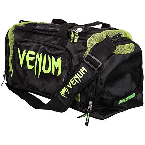 Venum Trainer Lite Sac de Sport Mixte Adulte, Noir/Jaune Fluo, Grande Capacité, 57L