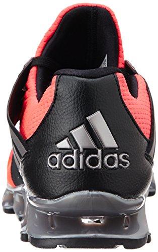adidas Herren Springblade Solyce Laufschuhe, Schwarz Rot / Orange / Schwarz (Rojsol / Plteme / Negbas)