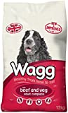 Wagg Dog Food Complete Beef and Veg, 12kg