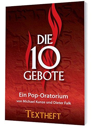 Die 10 Gebote - Textheft / Libretto