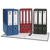 Grafoplas Grafcolor - Módulo 2 archivadores con palanca de 65 mm, color rojo