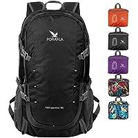 POKARLA 22/35/40L Lightweight Packable Backpack Hiking Daypack Walking Rucksack Foldable Camping Sports Outdoor Knapsack for Women Men