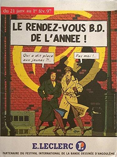 Jacobs - Leclerc - Blake et Mortimer - Le rendez-vous B.D. de l'année ! - prospectus 8 pages