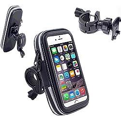 Bicycle Mount Holder, VSOAIR 360 Degrés Tournant Waterproof Bicyclette ou Moto Poignée Barre de Montage Sacoche étui Holster pour iPhone 7 / iPhone 6 / 6s 4.7 Pouces