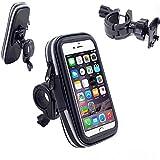 Bike Phone Holder, VSOAIR 360 Gradi che Girano Biciclette Impermeabile o Moto Barra della Maniglia della Custodia per Armi del Sacchetto di Montaggio per iPhone 7 / iPhone 6 / 6S 4.7 Pollici