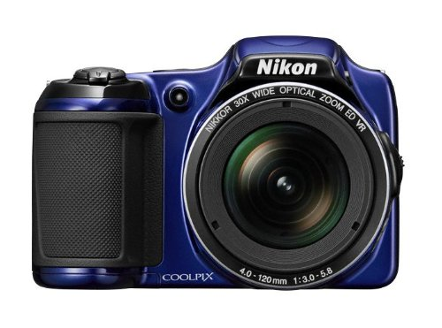 Cmos-sensor Typ (Nikon Coolpix L820 Digitalkamera (16 Megapixel, 30-fach opt. Zoom, 7,6 cm (2,7 Zoll) LCD-Monitor, Bildstabilisator) blau)