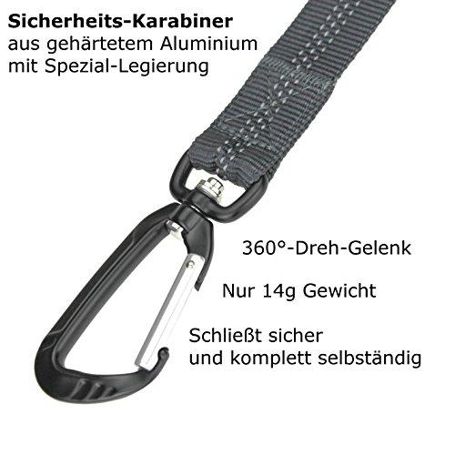 Leichte gepolsterte Hundeleine – Kurzführer - 4