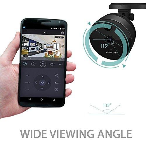 Foscam C1 HD 720P Funk-Plug-and-Play IP WLAN Kamera / Überwachungskamera mit IR Nachtsicht - 2