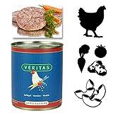 Veritas Hundemenü 28 x 800 g Dosen in 6 Geschmacksrichtungen Hundenahrung Premium Nassfutter Hundefutter ohne Konservierungsstoffe, keine chemischen Farb-, Duft- und Lockstoffe - 3