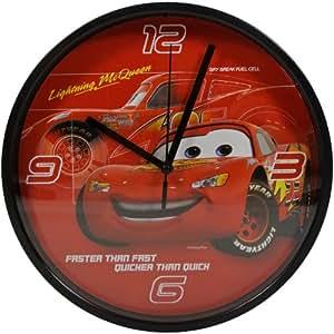 Disney -Horloge Pendule Murale Disney Cars Heros Flash McQueen