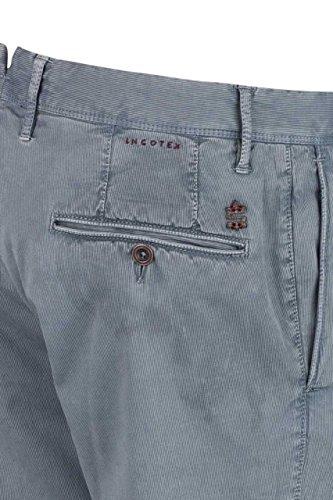 Incotex Pantaloni Chino SKIN FIT Blu chiaro