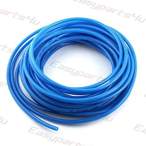 5% Polyurethan (Pneumatik Polyurethan PUN Schlauch \ 5 meter \ Außen 8mm x Innen 5mm \ Blau \ Flexibel Druckluftschlauch Luft Treibstoff Öl)