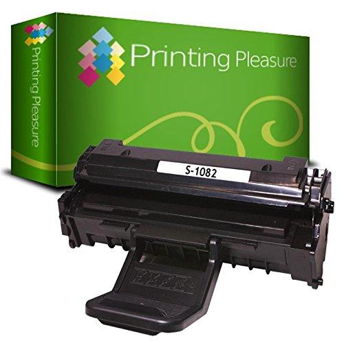 Printing Pleasure Compatible Cartucho de tóner para Samsung ML-1640 ML-1641 ML-1642 ML-1645 ML-2240 ML-2241 - Negro, Alta Capacidad
