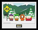 GB eye Ltd South Park, Gruppe Kunstdruck, gerahmt, 30x 40cm, verschiedene