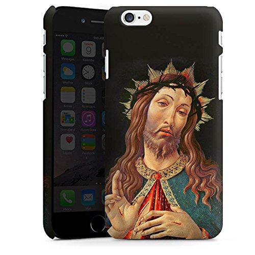 Apple iPhone X Silikon Hülle Case Schutzhülle Ecce Homo Jesus Christus Premium Case matt