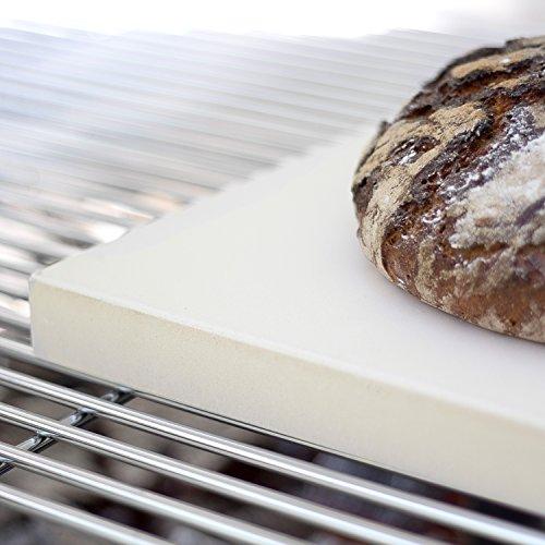 Rustler pietra refrattaria pietra ollare da forno per pizza e pane forma ebay - Pietra refrattaria da forno ...