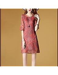 Women'S Clothing Summer Women'S Clothing Dans L'Été De Grande Taille En Mousseline Mousseline Les Manches