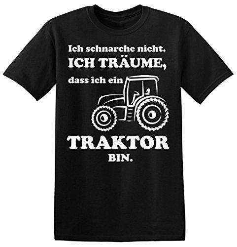 Ich Schnarche Nicht. Ich Träume, Dass Ich Ein Traktor Bin. Men's T-shirt XX-Large